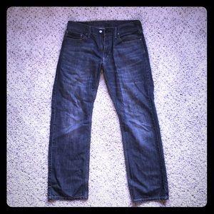 Levi's 514 grey jeans.  W34 L32